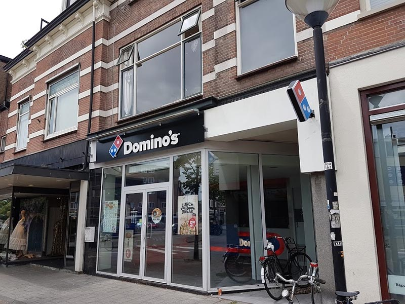 dominos pizza gevelreclame