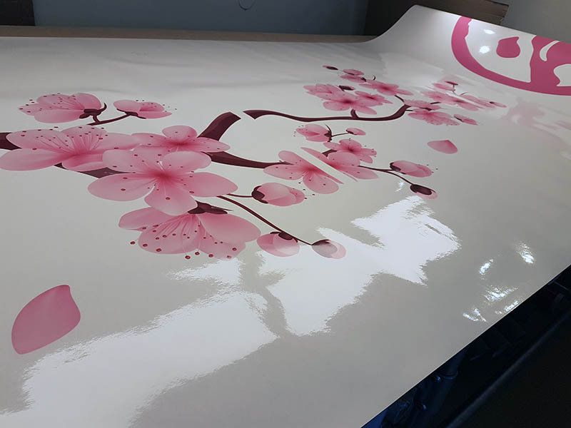 fotoprint op transparant stickermateriaal