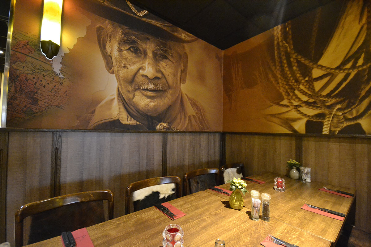 fotobehang of fotowand in horeca en restaurant